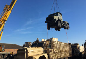 Military load transportation