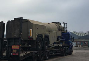 Military Wide Load Transportation