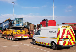 Abnormal loads management for transport sector